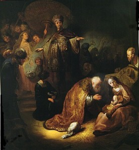 Rembrandt - The Adoration of the Magi