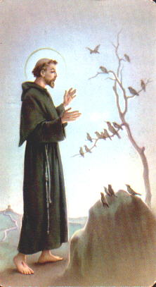 This is St. Francis of Assisi
